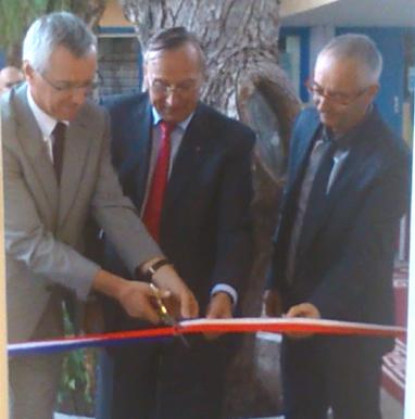 Inauguration bureau Agadir 1