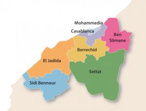 Carte Casablanca-Settat