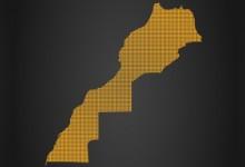 carte du maroc-régions web
