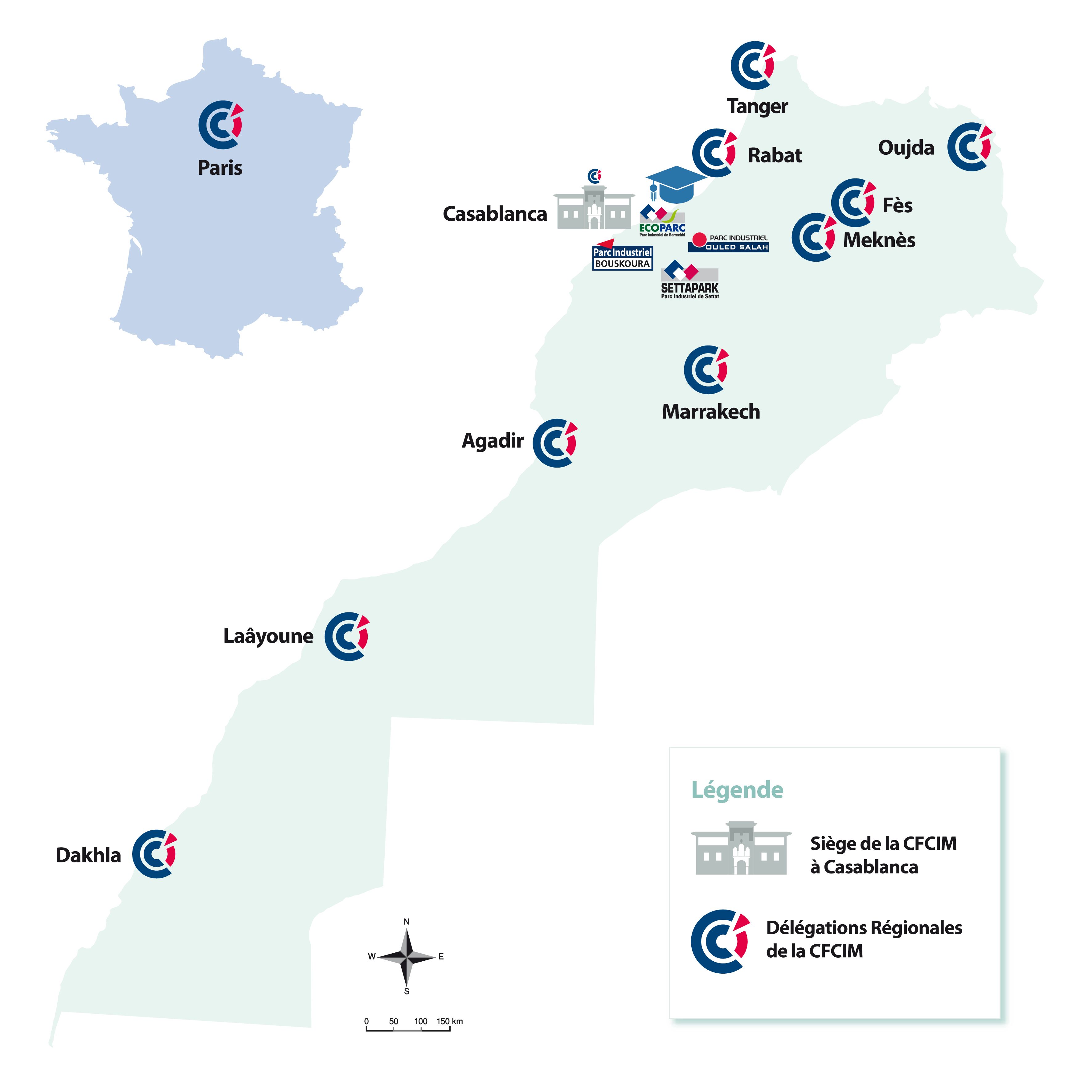 Carte Délég région CFCIM site