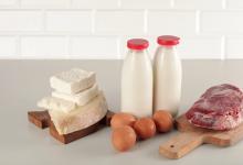Viande lait fromage